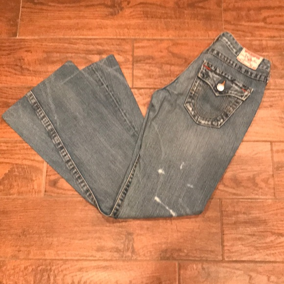 True Religion Denim - True Religion Distressed Joey Jeans
